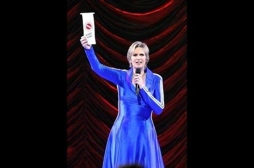 Jane Lynch Cut from Theatrical Release of GLEE 3D Movie