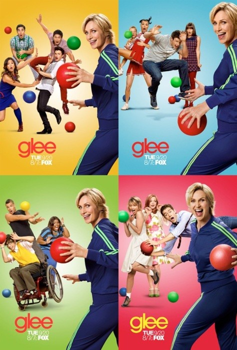 BRAND-NEW GLEE – Season Three Promo Posters!