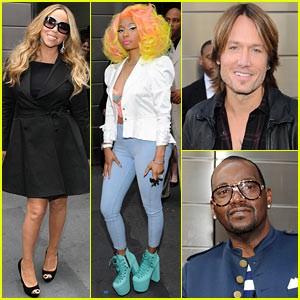 It's Official! Nicki Minaj & Keith Urban Join American Idol!