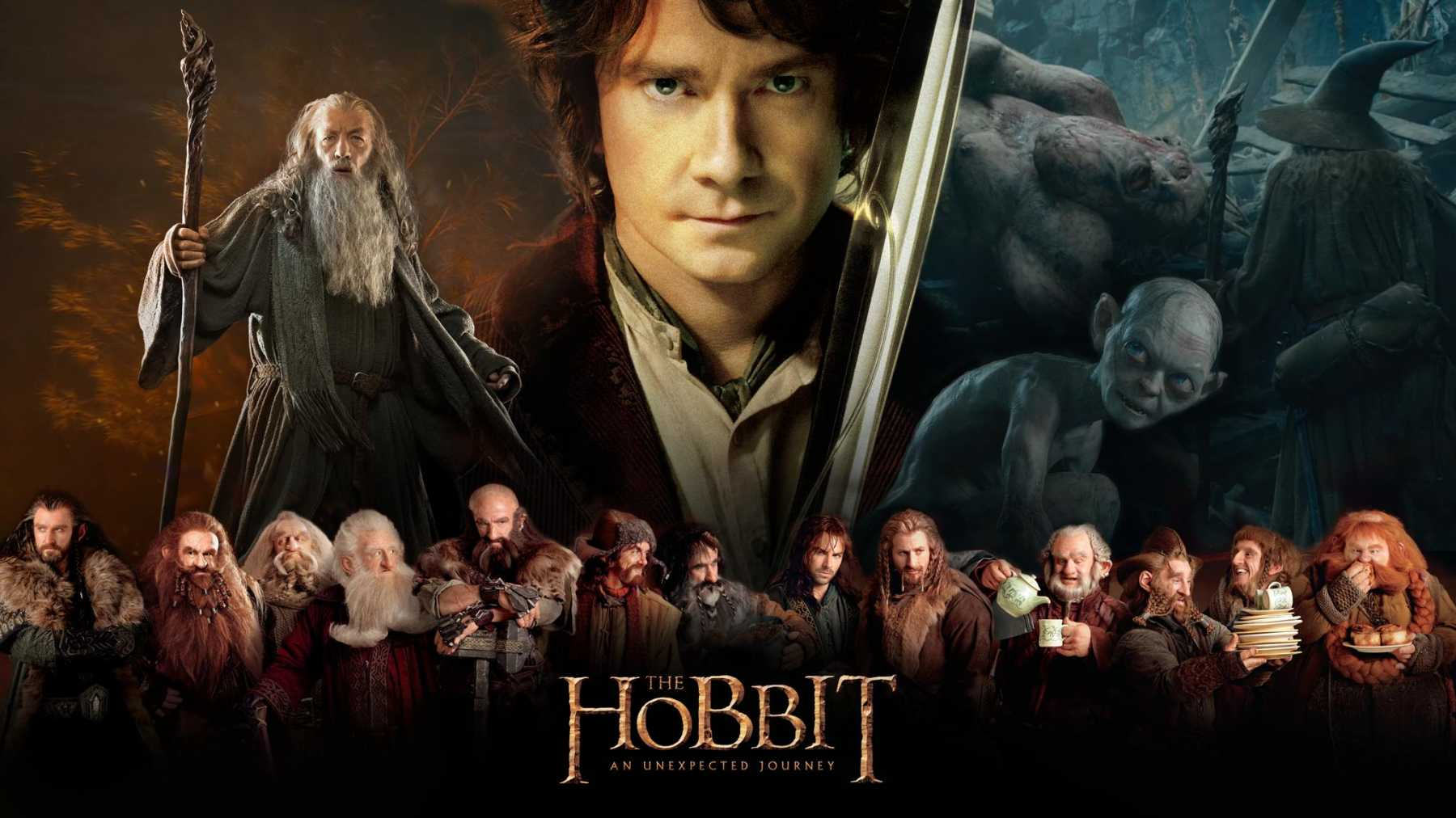 """Check out this custom """"The Hobbit"""" wallpaper!"""