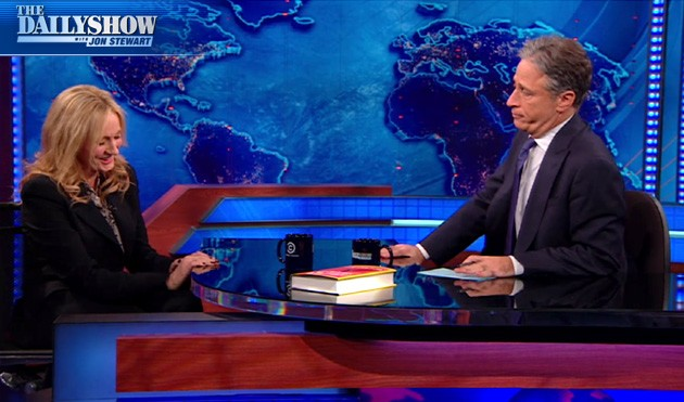 J.K. Rowling appears on the Daily Show With John Stewart! (VIDEOS)