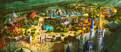 EXCLUSIVE Look At Walt Disney World's NEW FantasyLand Expansion!