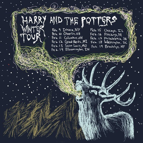 Harry and the Potters Going On Winter Tour!