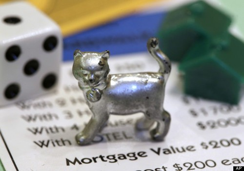 Monopoly Flattens Iron and Adds A KITTY!