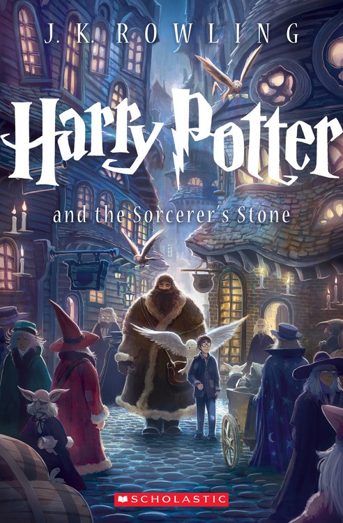 Scholastic's NEW Cover For Harry Potter and the Sorcerer's Stone!