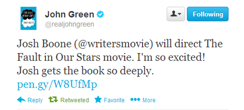 The Fault In Our Stars Director CONFIRMED!