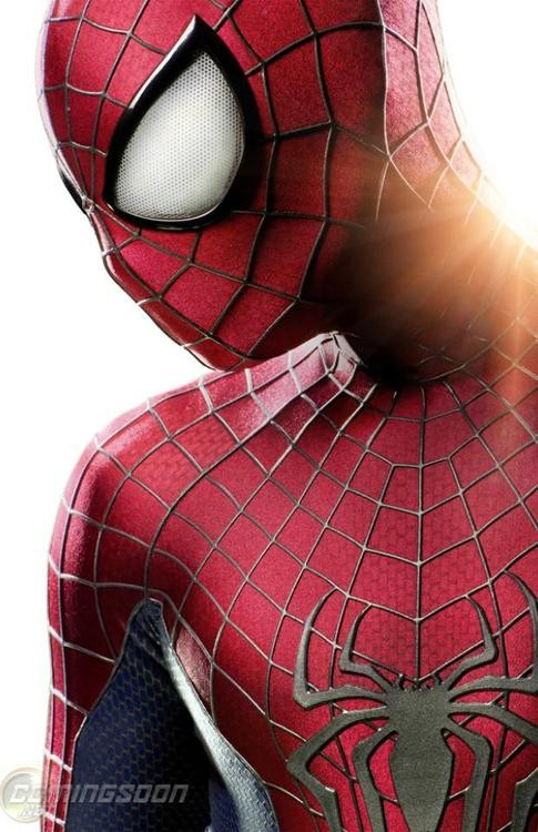 The First Look At Spiderman's Outfit For The Amazing Spiderman 2!