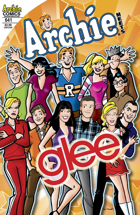 Glee Gets ANIMATED With Archie Comics Crossover!