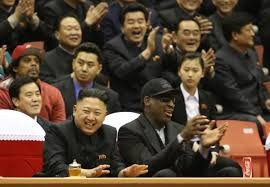 Dennis Rodman Visits North Korea to Hang Out with Kim Jong Un!