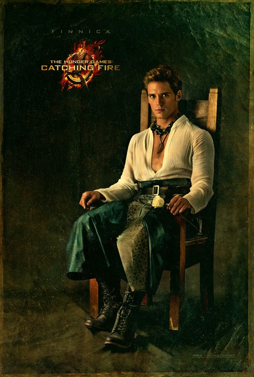 Time for Some Finnick! Catching Fire Releases His Capitol Portrait!