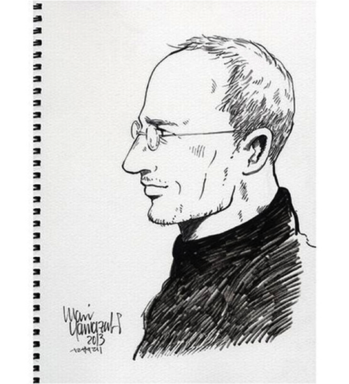 STEVE JOBS JOINS SPIDERMAN: BIOGRAPHY ILLUSTRATED IN MANGA