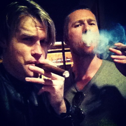 Uproar: Chord Overstreet Pictured With A Cigar: Why the fuss?