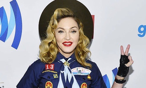 Madonna Blasts The Scouts & Honors The Silver Fox At GLAAD Awards!