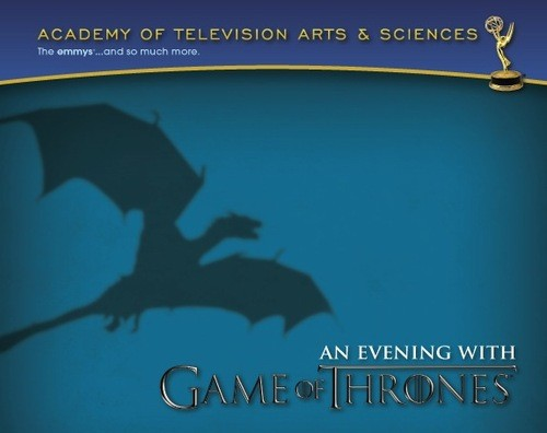 Game Of Thrones Panel Happening TONIGHT!