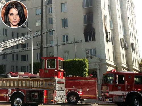 Ashley Greene's Apartment Goes Up in Smoke!