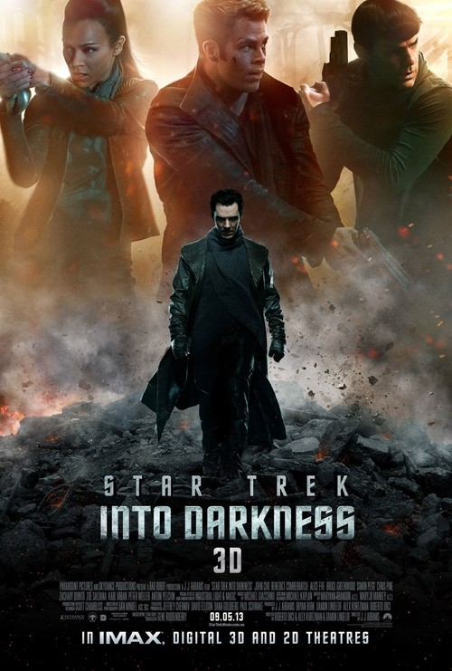 New Poster Released For Star Trek Featuring Benedict Cumberbatch!