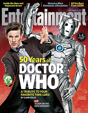 A Whovian Must: Doctor Who On the Cover of Entertainment Weekly!