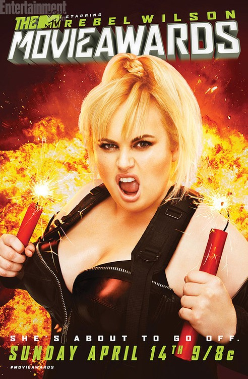 Rebel Wilson is Ready to Take on The MTV Movie Awards!