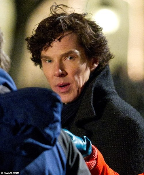 Benedict Cumberbatch Is Back as Sherlock! A First Look at Season 3!