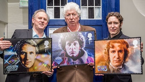 Add This to Your Collection! Doctor Who Stamp Set Released!