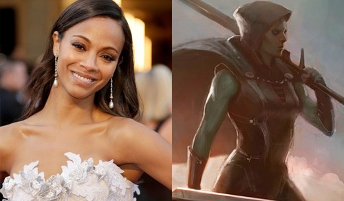 Zoe Saldana In Talks to Join Guardians of the Galaxy!
