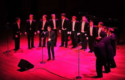 Darren Criss Joining The Yale Whiffenpoofs For P.S. Arts Concert !