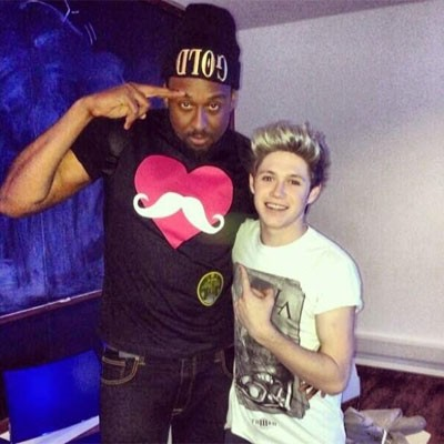 Miley Cyrus Spends Time with Niall Horan in the Studio