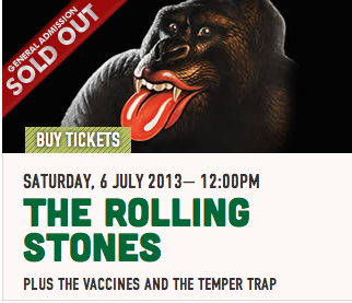 Rock On: Rolling Stones Hyde Park Gig Sells Out In Three Minutes!