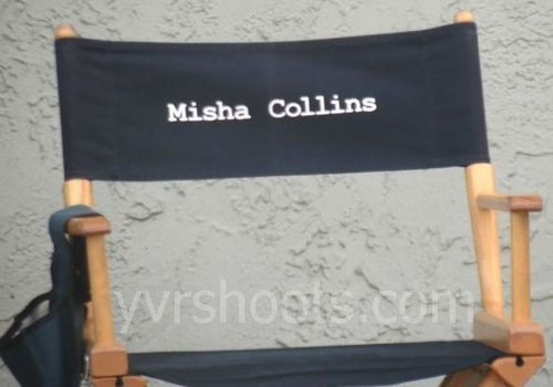 Check Out Misha Collins In Exclusive Photos Filming Supernatural!