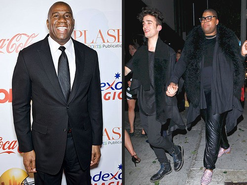 Magic Johnson's Son Comes Out of the Closet With Dad's Support!