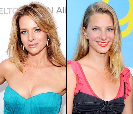 Former Glee Co-Star Jessalyn Gilsig Thinks Highly Of HeMo's News!