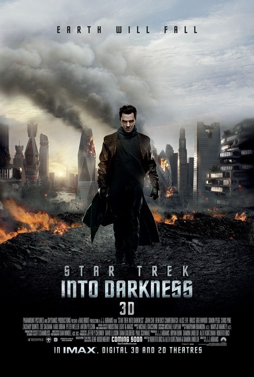 Benedict Cumberbatch Gives Bad Vibes In the Latest Star Trek Poster!