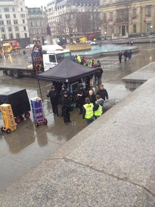 A Plethora Of Doctor Who: 50th Anniversary On Set Photos! SPOILERS!