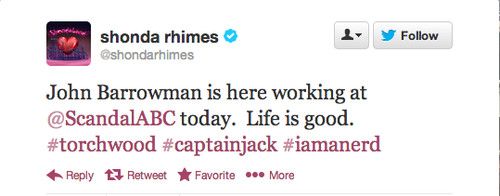 Captain Jack to Get 'Scandal'ous As A Guest Star!