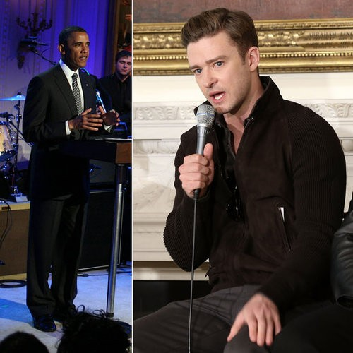 Justin Timberlake Performs At The White House! See It April 16!