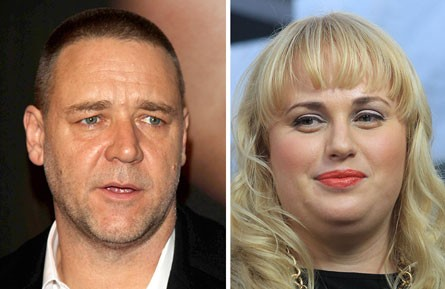 Russell Crowe Shows No Love Towards Rebel Wilson!