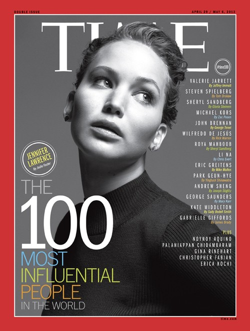 Jennifer Lawrence Tops TIME Magazine New List Of Most Influential!