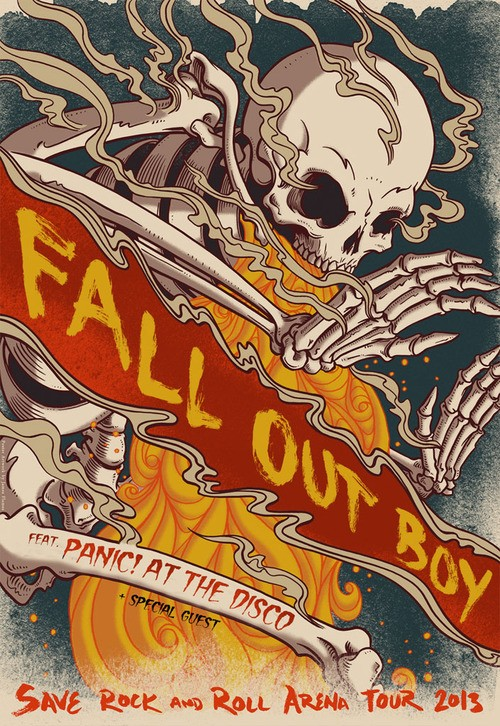 Fall Out Boy To Bring Panic! At The Disco With Them On Tour!