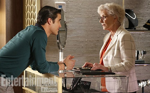 Gleeks: See Patty Duke and Darren Criss In A Glee First Look!