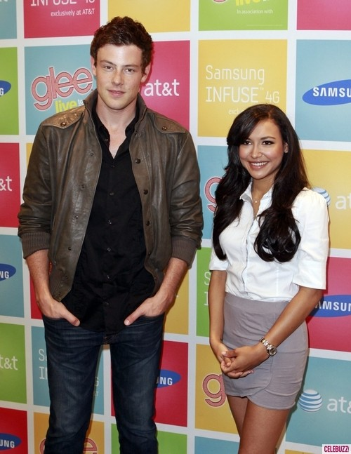 Glee's Naya Rivera Supports Her Co-Star Cory Monteith!