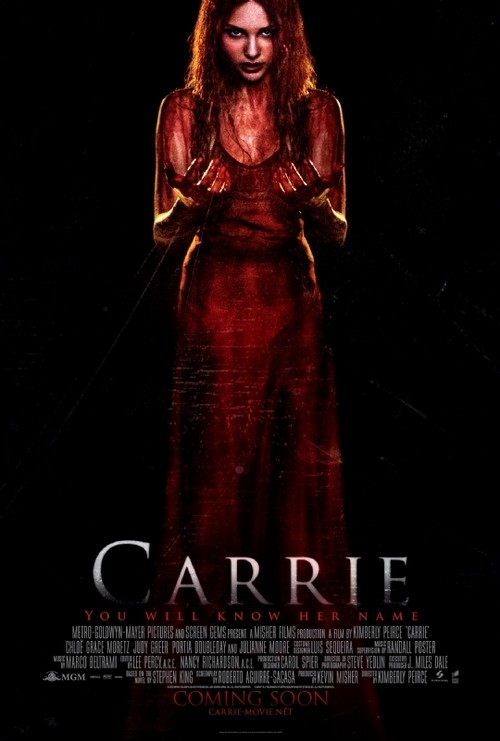 Blood Rages On: New Carrie Remake Poster Revealed!