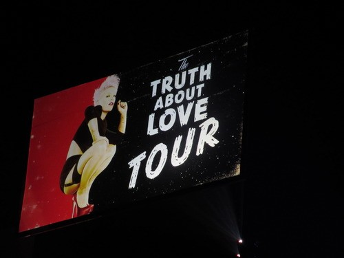 P!nk Rocks And Swings At London's O2!