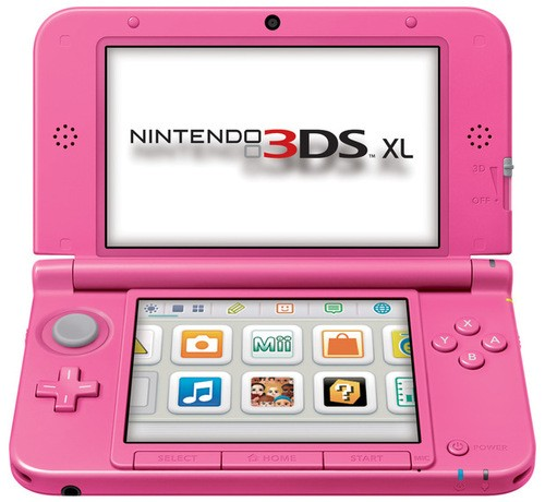 A Pink 3DS For The UK & New Games For Everyone!