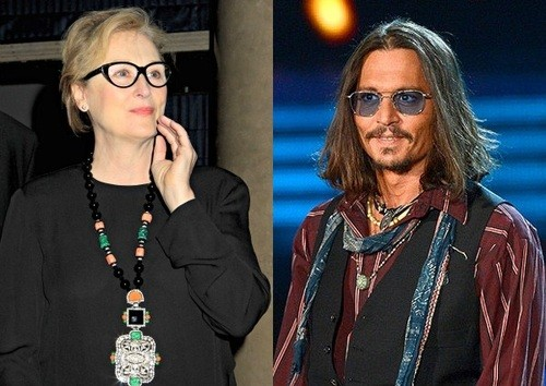 Star Power: Johnny Depp To Star With Meryl Streep in Into The Woods!