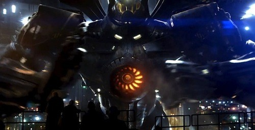 New Pacific Rim Trailer Features Giant Robots & Dinosaur-Like Aliens!