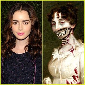 Lily Collins in