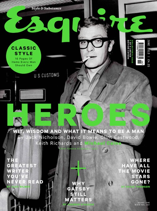 Sir Michael Caine Is A Hero According To Esquire!
