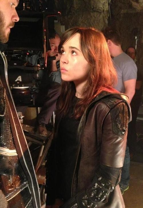 Ellen Page's Kitty Pryde Makes Her First Appearance In the New Flick!