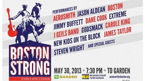 Boston Strong Benefit Concert Draws In Big Names For a Good Cause!