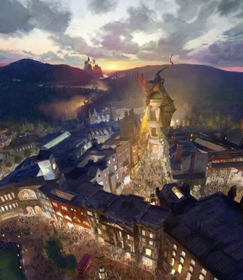 Wizarding World of Harry Potter - Diagon Alley Officially Announced!